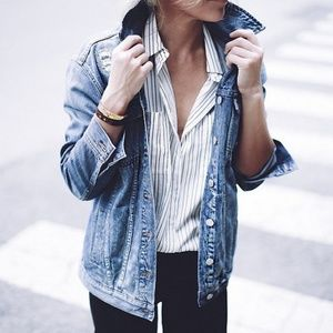 Madewell Oversize Jean Jacket